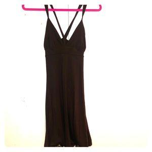 Susan Monaco brown swing dress M